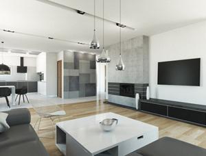 mieszkanie Oli i Rafała – wnętrza prywatne